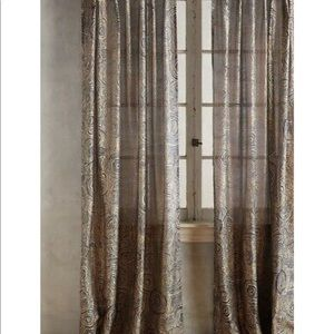 Anthropologie kittery curtain rare and sold out!